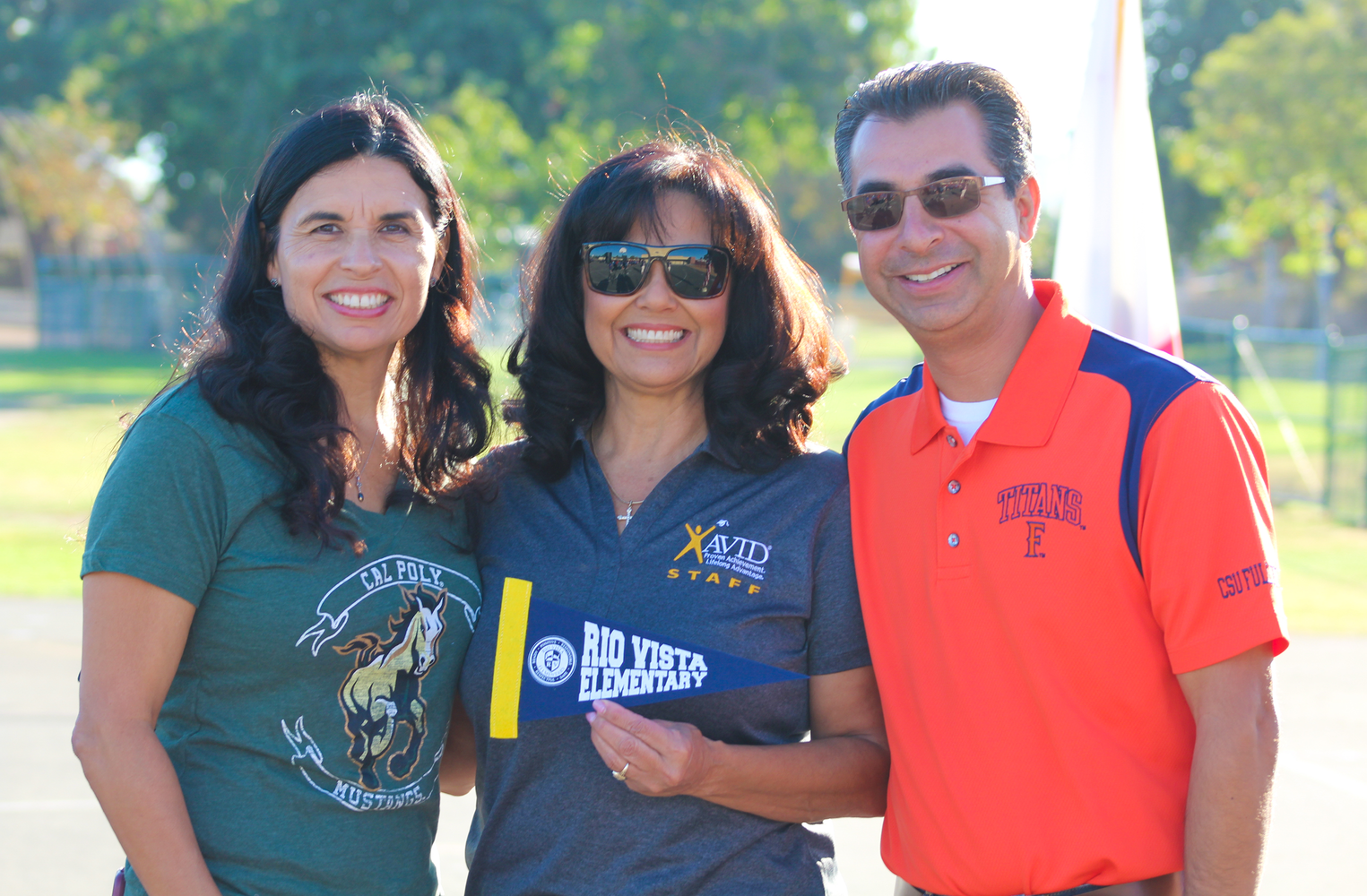 PYLUSD employees posing together for a picture.