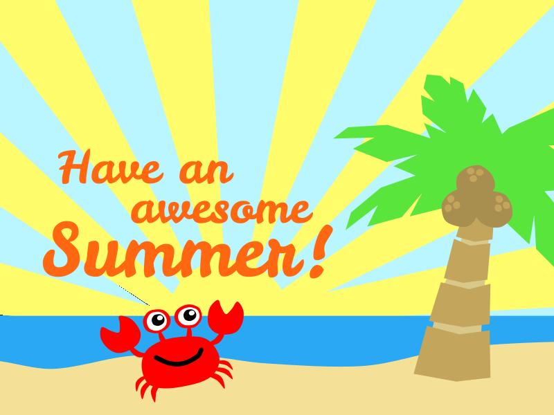 Enjoy Your Summer! Thumbnail Image
