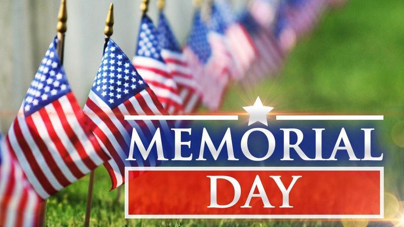 Memorial Day Holiday - NO SCHOOL - Monday, May 31st Thumbnail Image