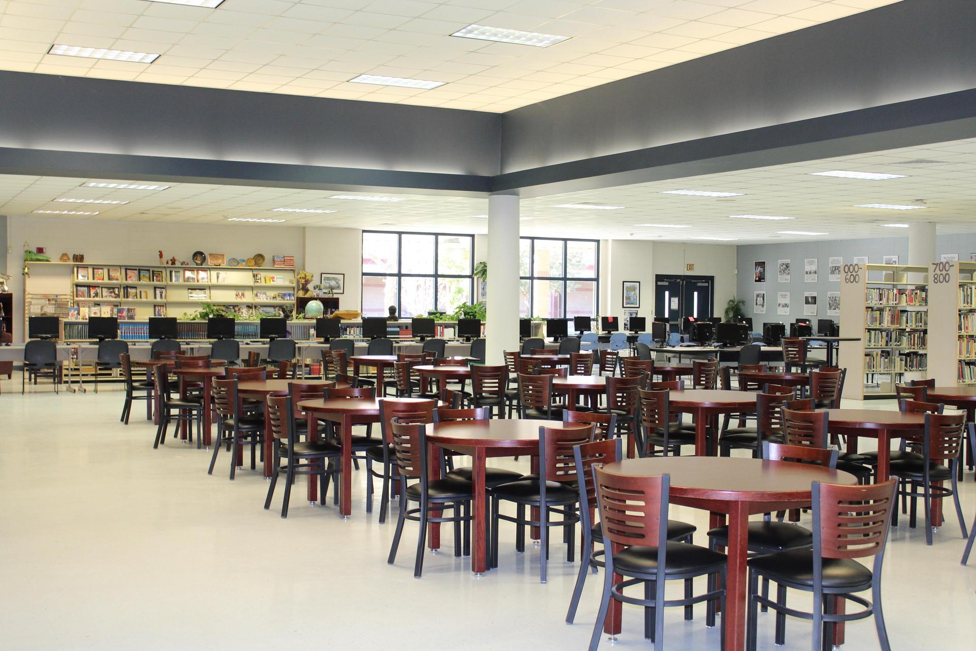 Gautier High School LIbrary