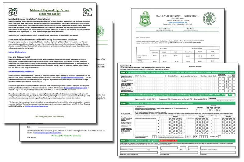 forms for Economic Toolkit