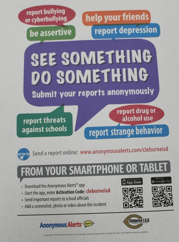 Anonymous Alerts poster