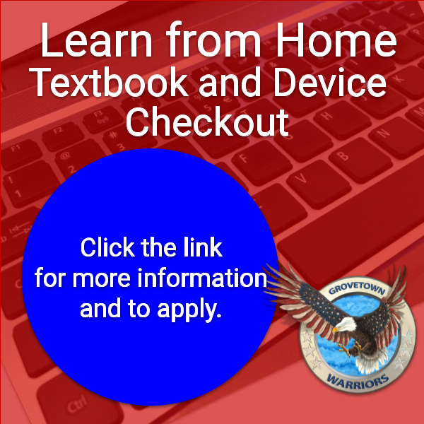 Learn from Home Textbook & Device Checkout Featured Photo
