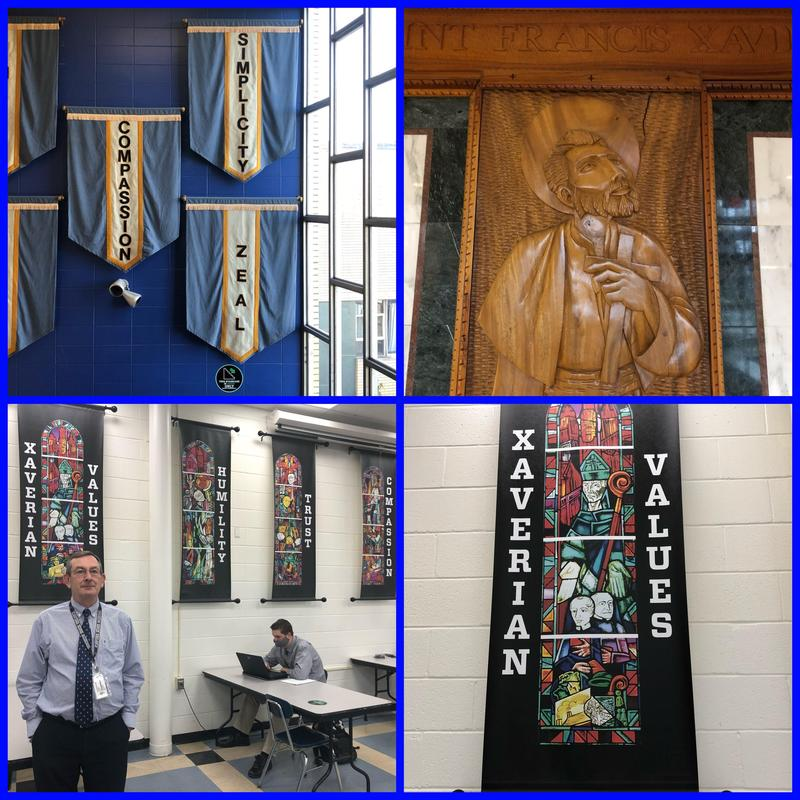 Pastoral care for students is a big part of Xavier