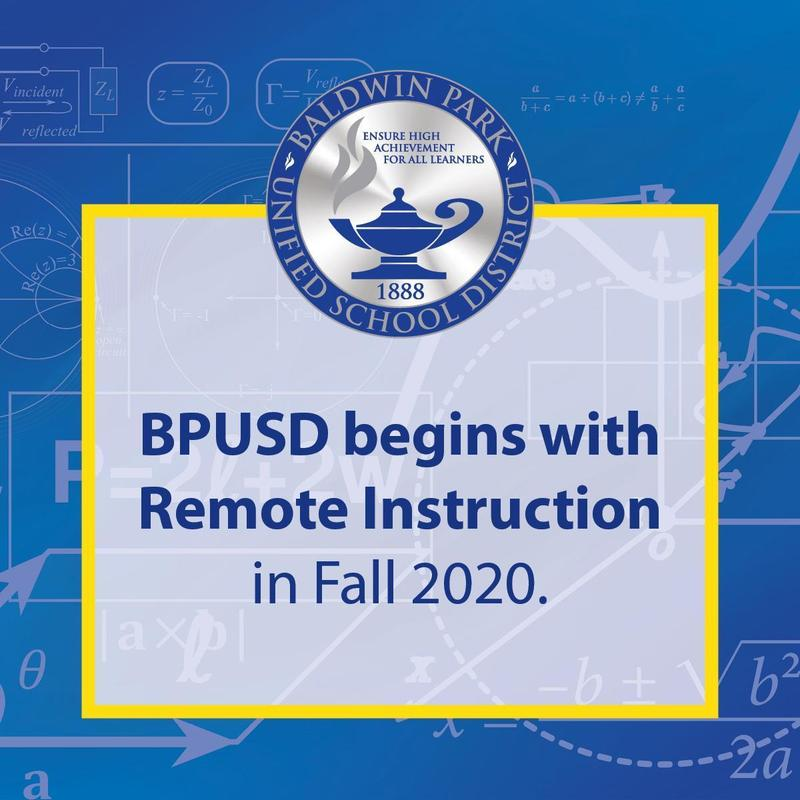 BPUSD Will Begin Fall 2020 with Remote Instruction Featured Photo