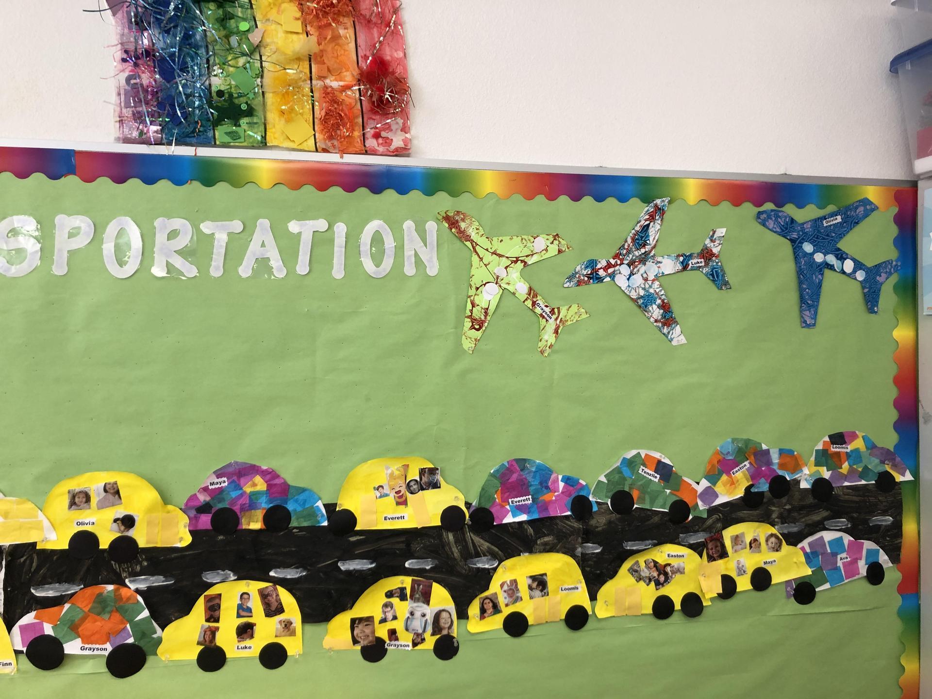 Transportation display