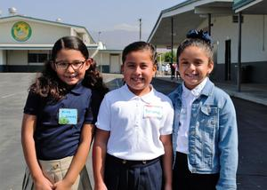 BPUSD_Back_School _1: Baldwin Park Unified's Pleasant View Elementary students enjoy their first recess of the 2018-19 school year on Aug. 16.
