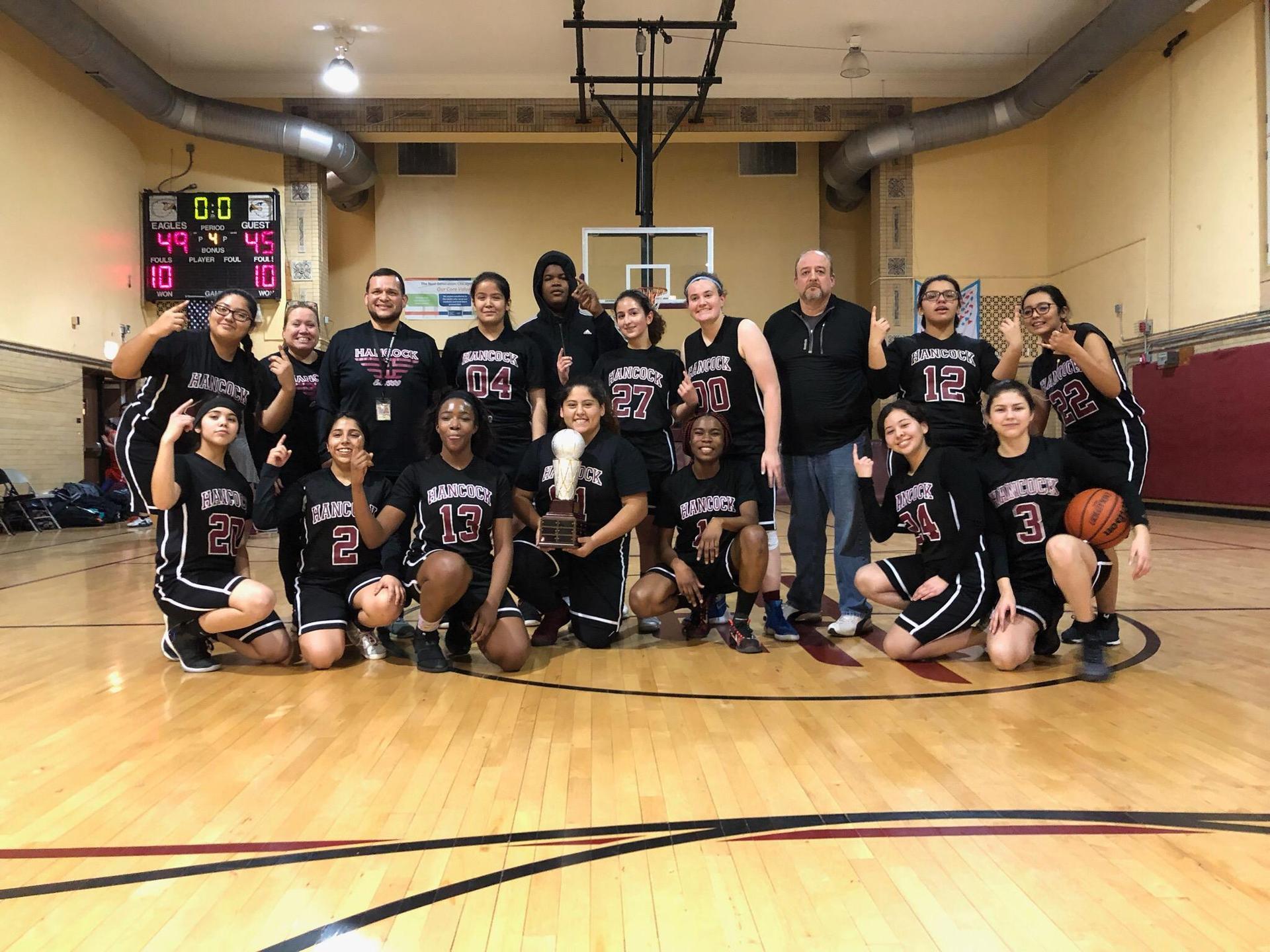 2018-2019 Girls Basketball Team