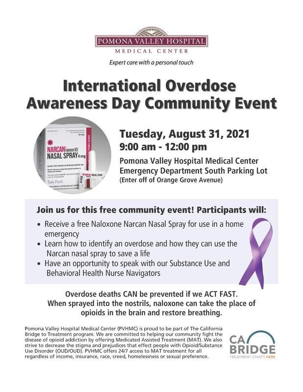 International Overdose Awareness Day Community Event