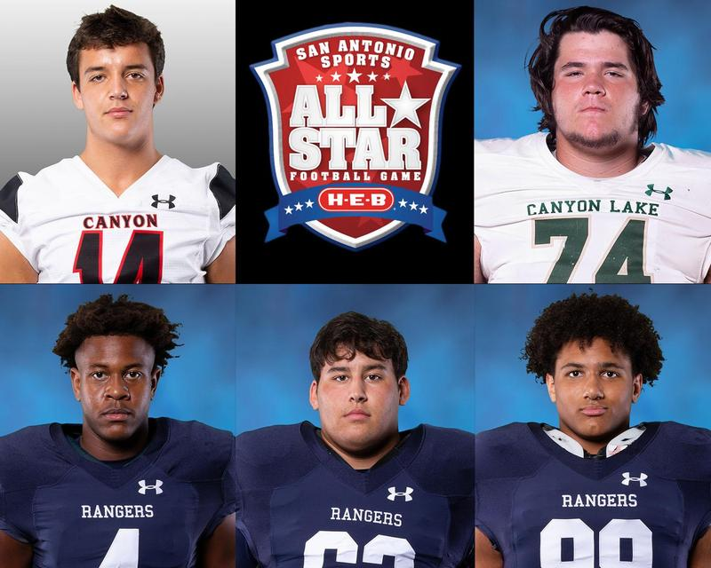 All-Star Football Game Athletes 2020