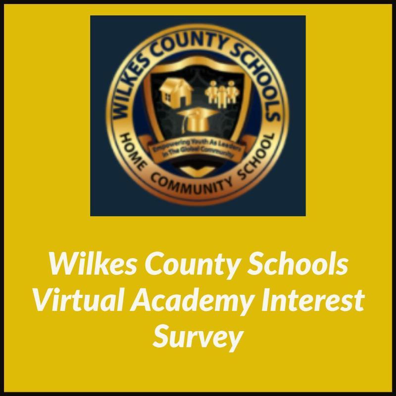 Wilkes County Schools Virtual Academy Survey Thumbnail Image