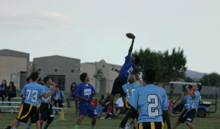 Great catch for Acacia's championship team.