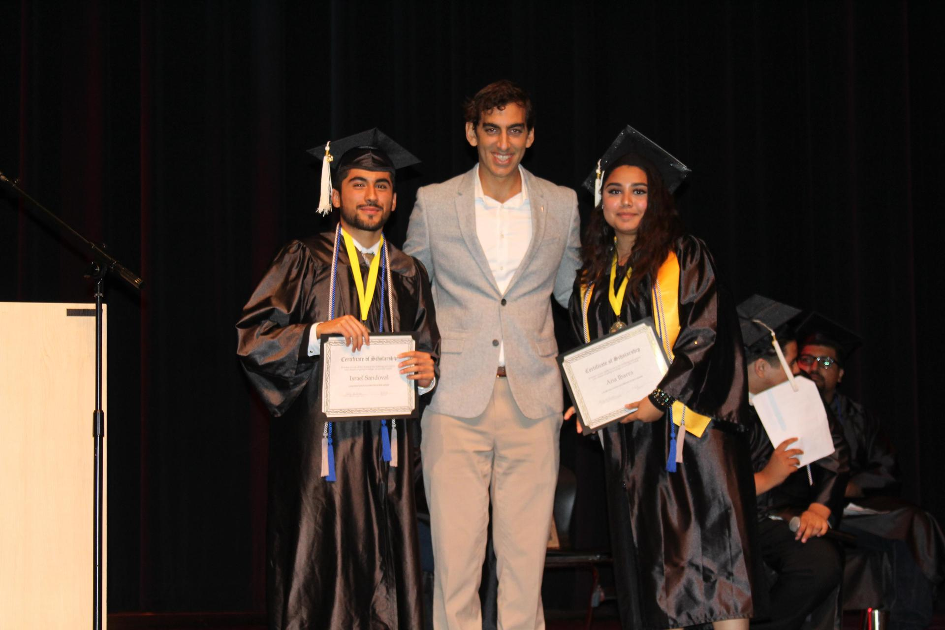 Lennox scholarship winners