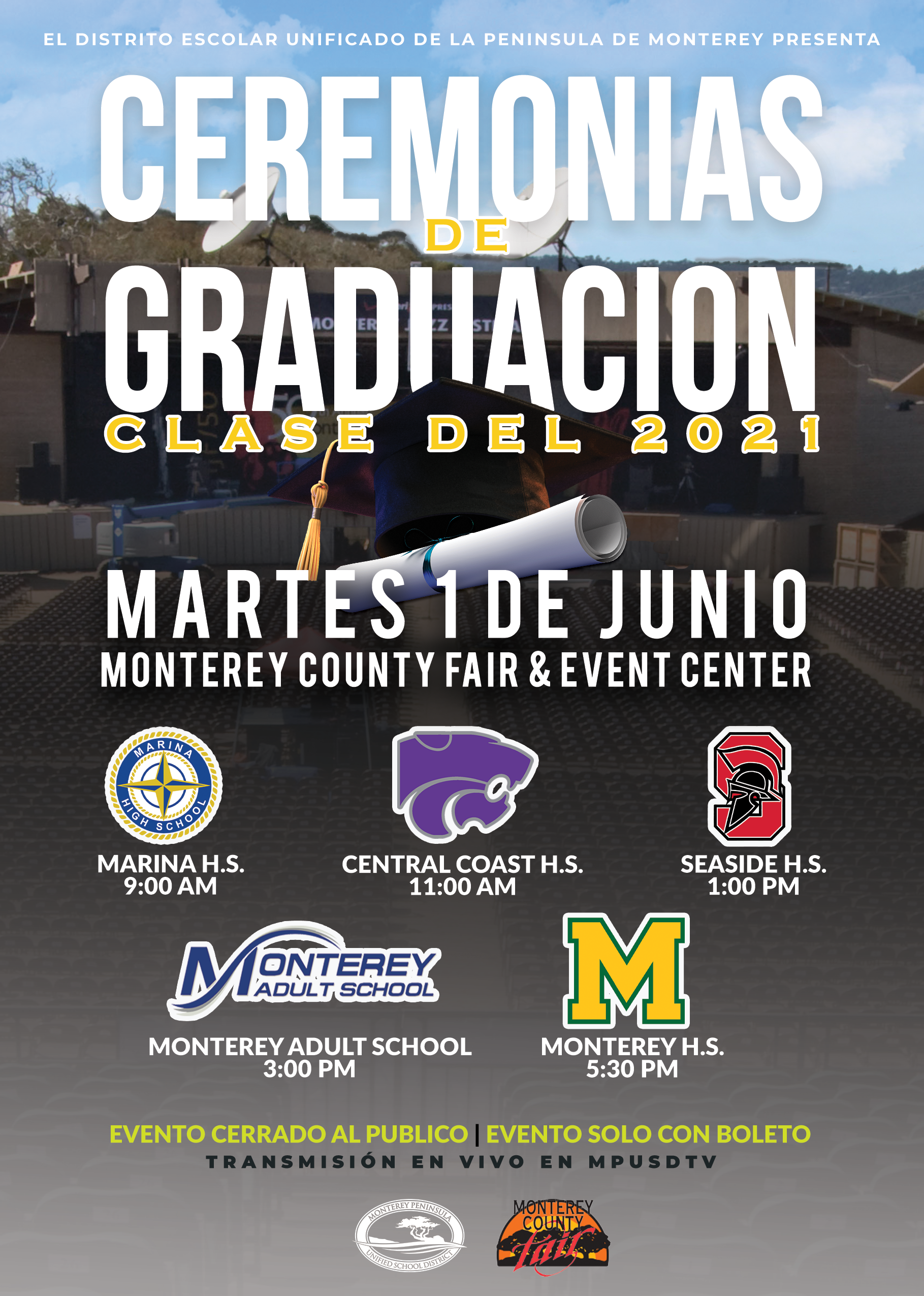 Spanish Graduation Flyer
