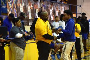 Principal Eric Jackson, Natchez High School