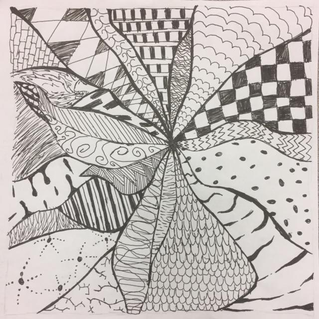 Abbe M Zentangle