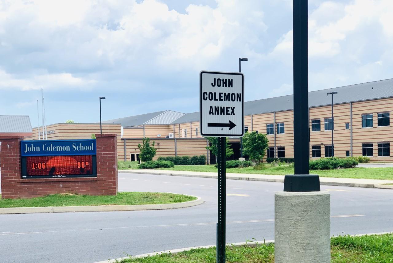 John Colemon Entrance