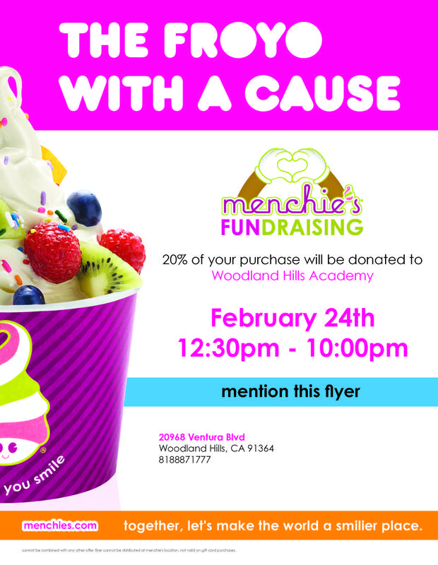 FROYO with a Cause! - Menchie's FUNdraiser 2/24/21 Featured Photo