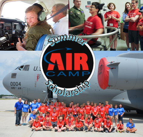 Air Camp Summer Scholarship opportunity