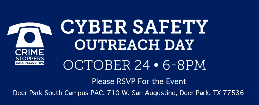 Cyber Safety Outreach Day - October 24