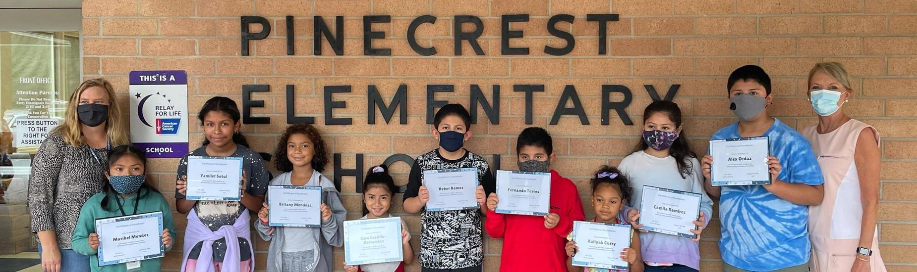 Pinecrest Elementary ESOL Students Awarded