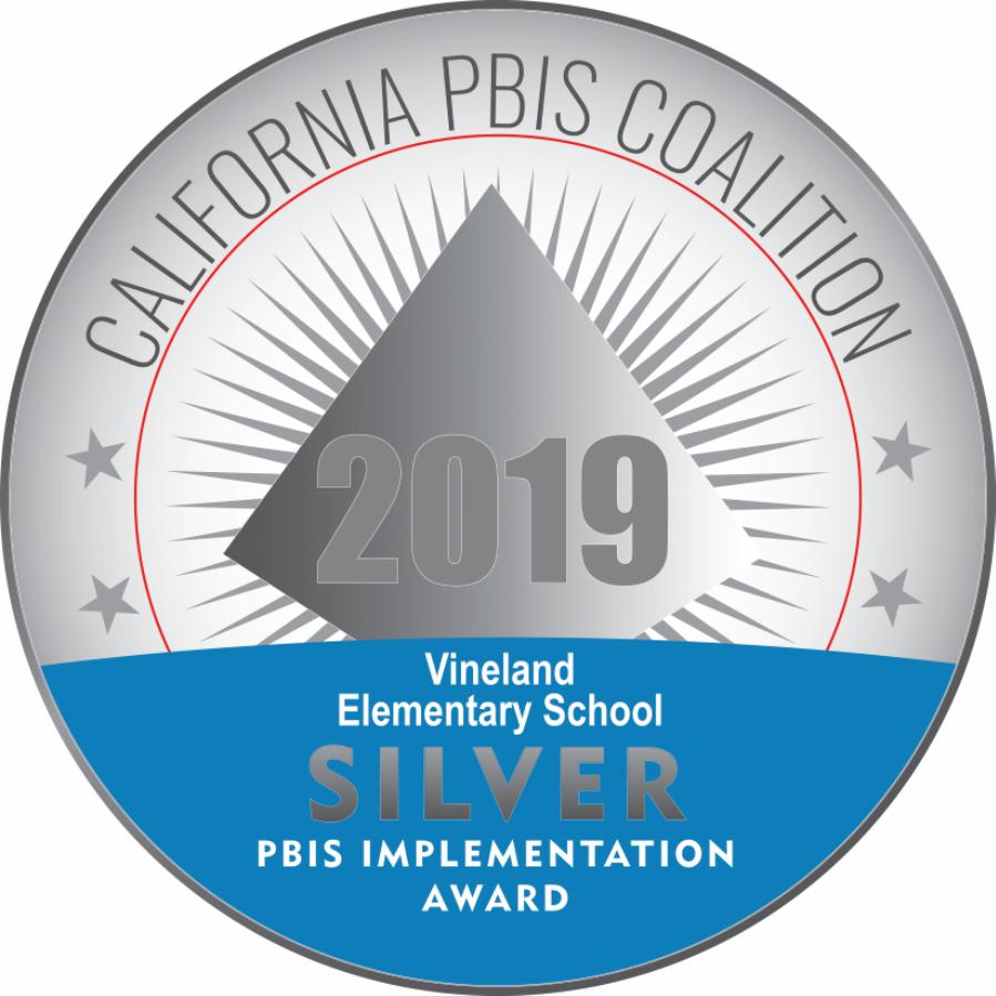 PBIS Silver Certificate Recognition Emblem