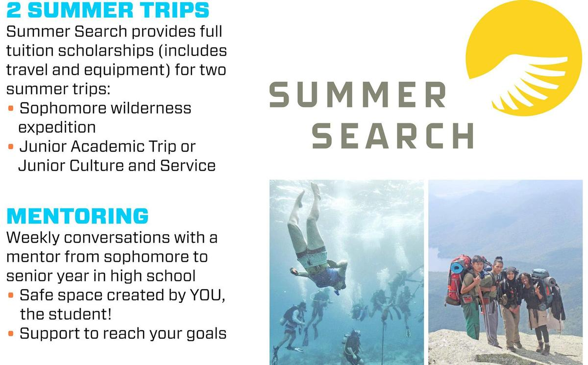 Summer Search Flyer