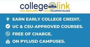 CollegeLink graphic for PYLUSD.
