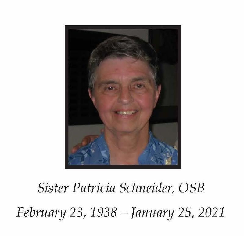 In Loving Memory of Sister Patricia Schneider, OSB Featured Photo