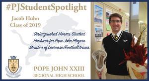 Jacob Huhn student spotlight