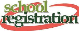 School registration clip art