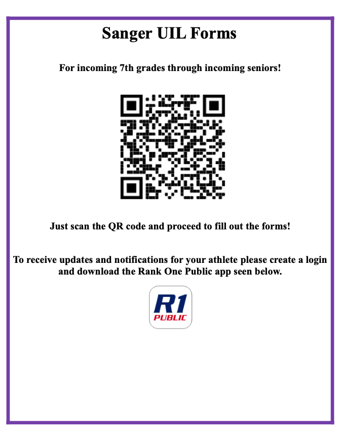 Rank One UIL Form QR code