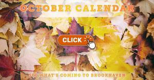 Brookhaven October 2020 Calendar of Events