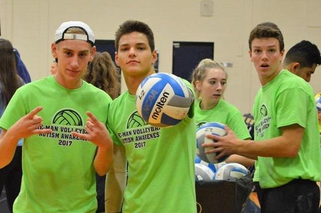 Senior HeMan Volleyball