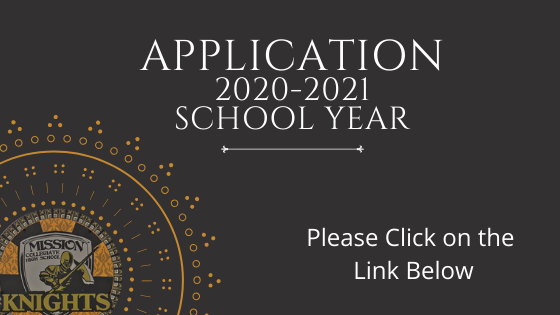 Application for the 2020-2021 School Year is Now Available! Featured Photo