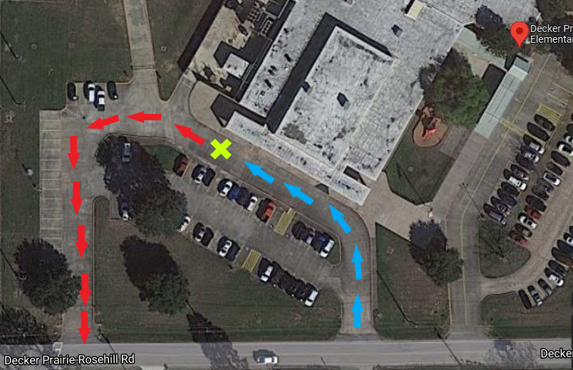 DPES curbside map