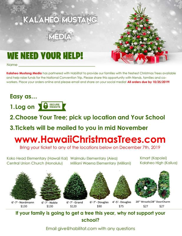 Mustang Media Christmas Tree fundraiser Featured Photo