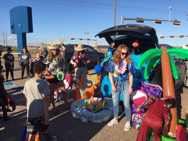 Most interactive trunk at NHS Trunk or Treat.