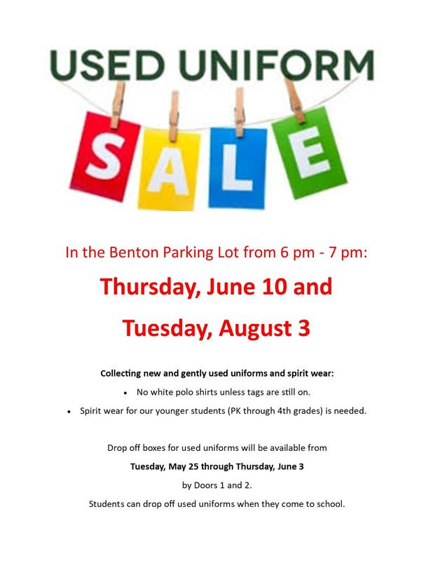 Used Uniform Sale - June 10th and August 3rd! Featured Photo
