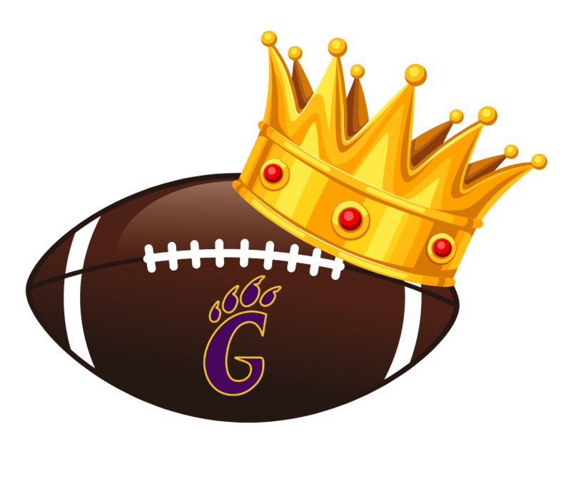 football with crown
