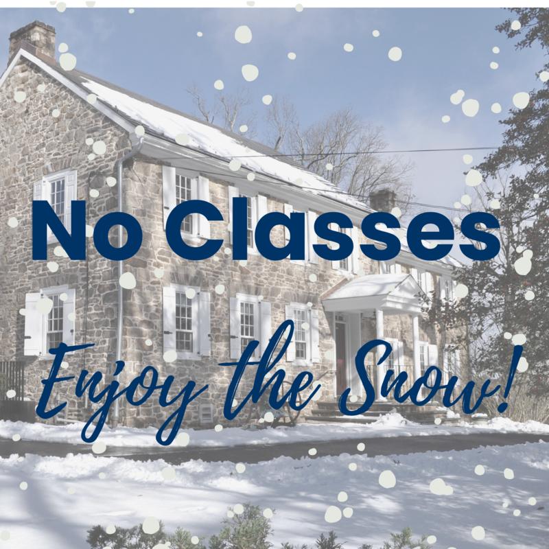 No Classes - Enjoy the snow!