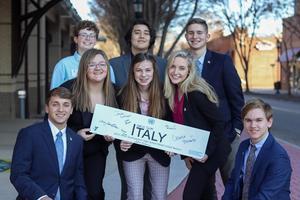 Italy delegation