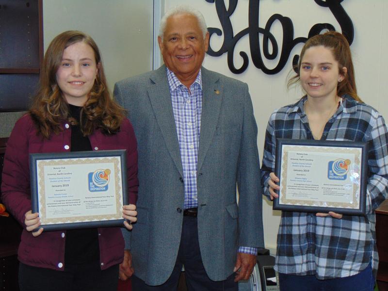 Rotary student winners