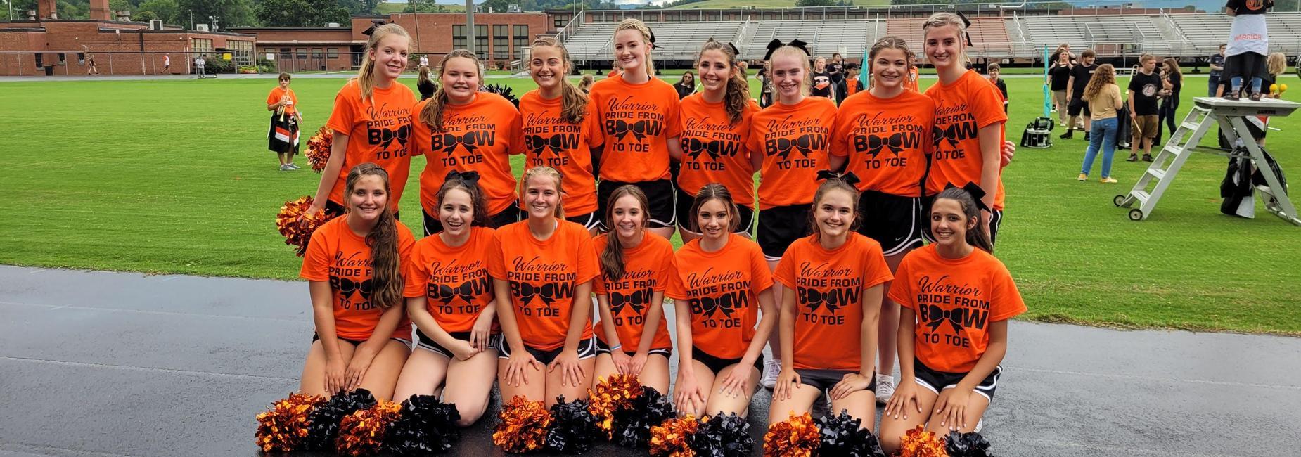 Chilhowie HS Cheer Team