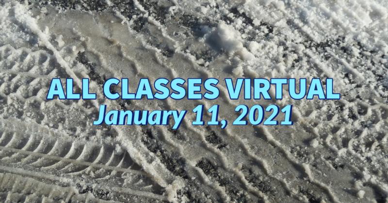 All Classes Virtual 1-11-21