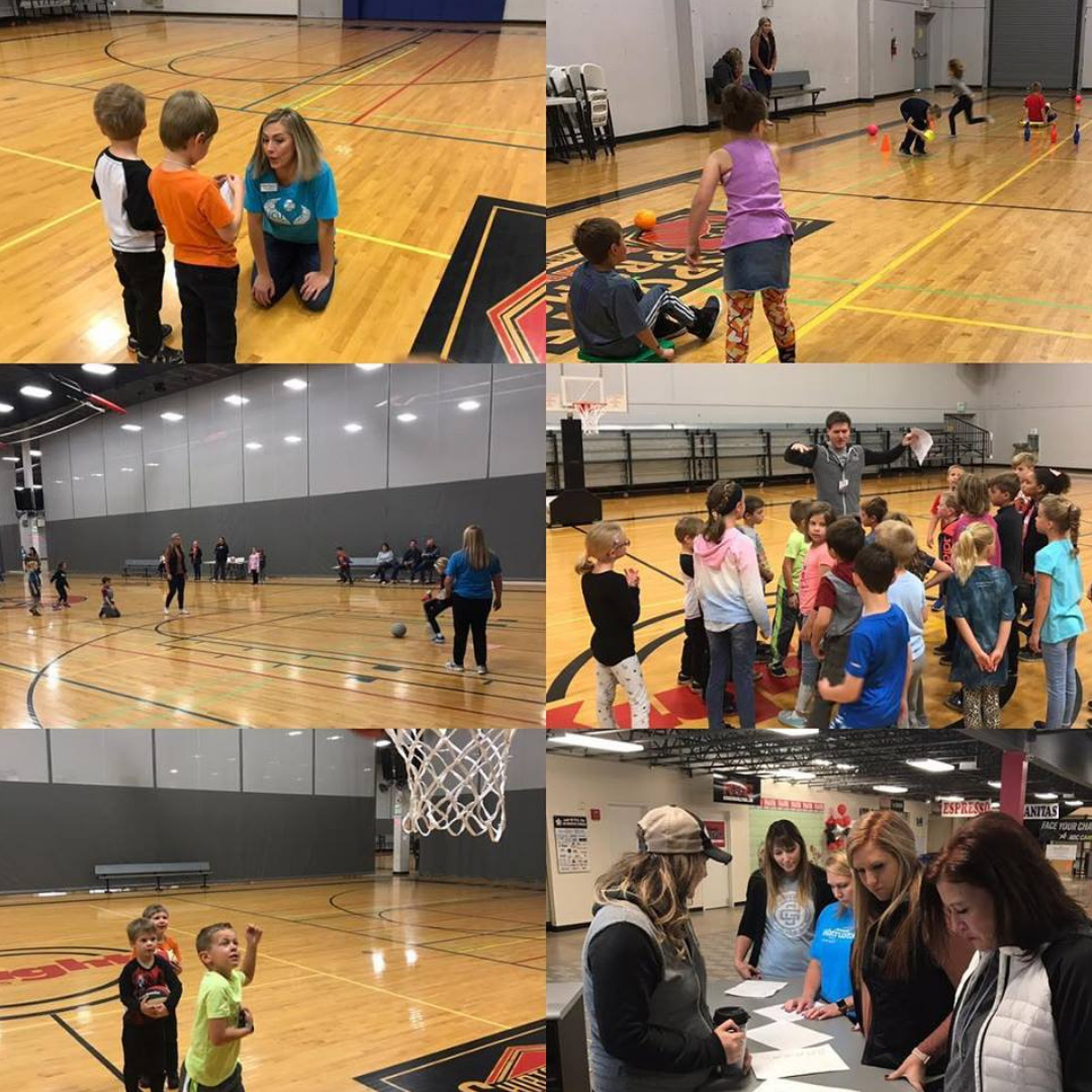 Valley students playing at The Hub Sports Center