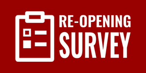 re-opening survey icon