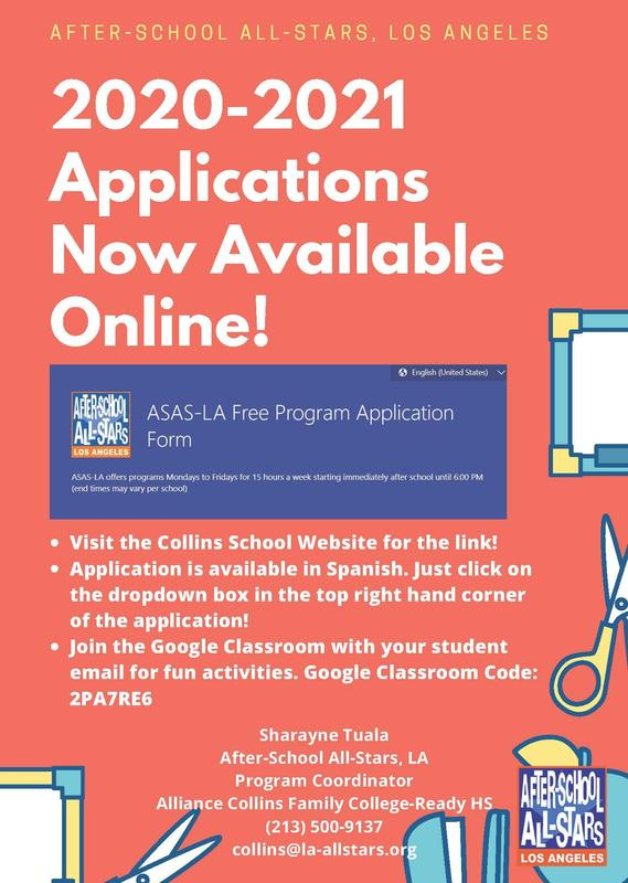 After School All Stars Online Applications Now Available Thumbnail Image