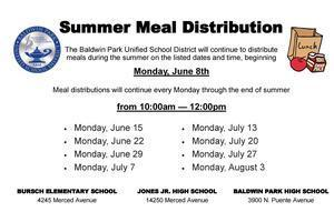 BPUSD Summer Meal Distribution Featured Photo