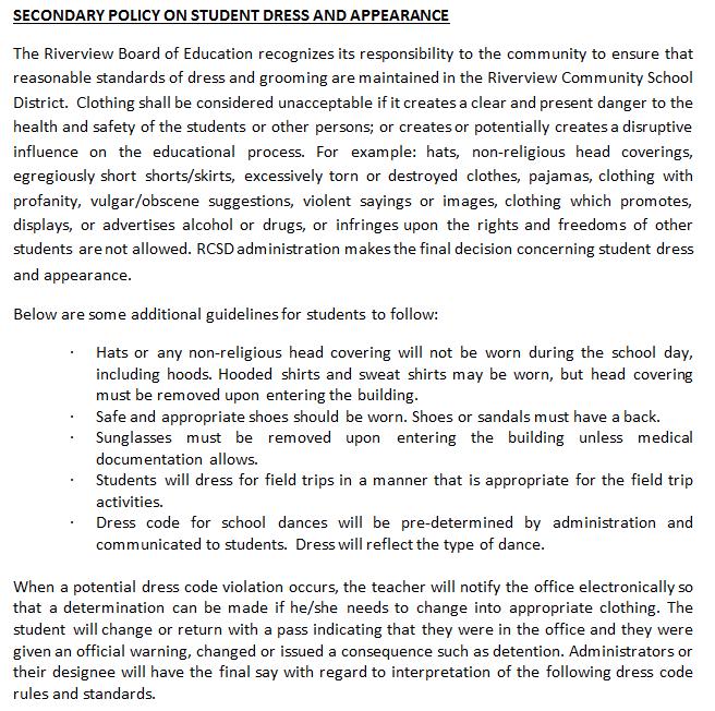 Academics - Educational Support Departments - Riverview
